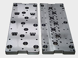 Ejector plates of steel