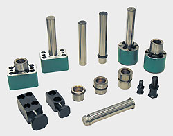 Fittings for special plates and special die sets