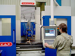 CNC milling / drilling (machining centers)
